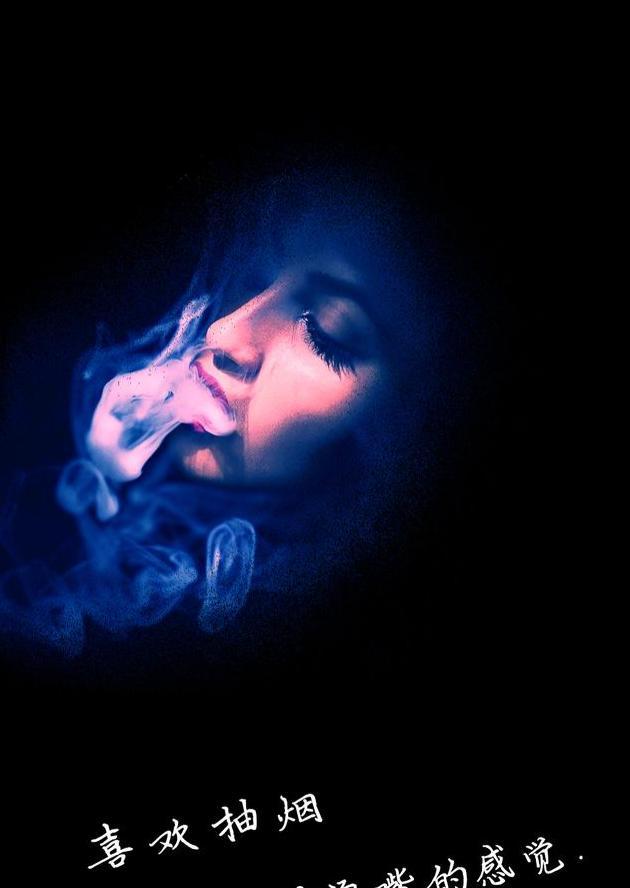 抽烟的女人,抽烟后的语录,说出了你的心情