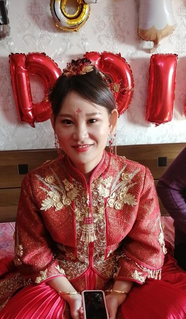 我的外女新婚大喜,老舅祝福你们。
