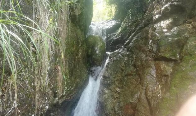 瀑布(七绝•平水韵)——家乡的风景