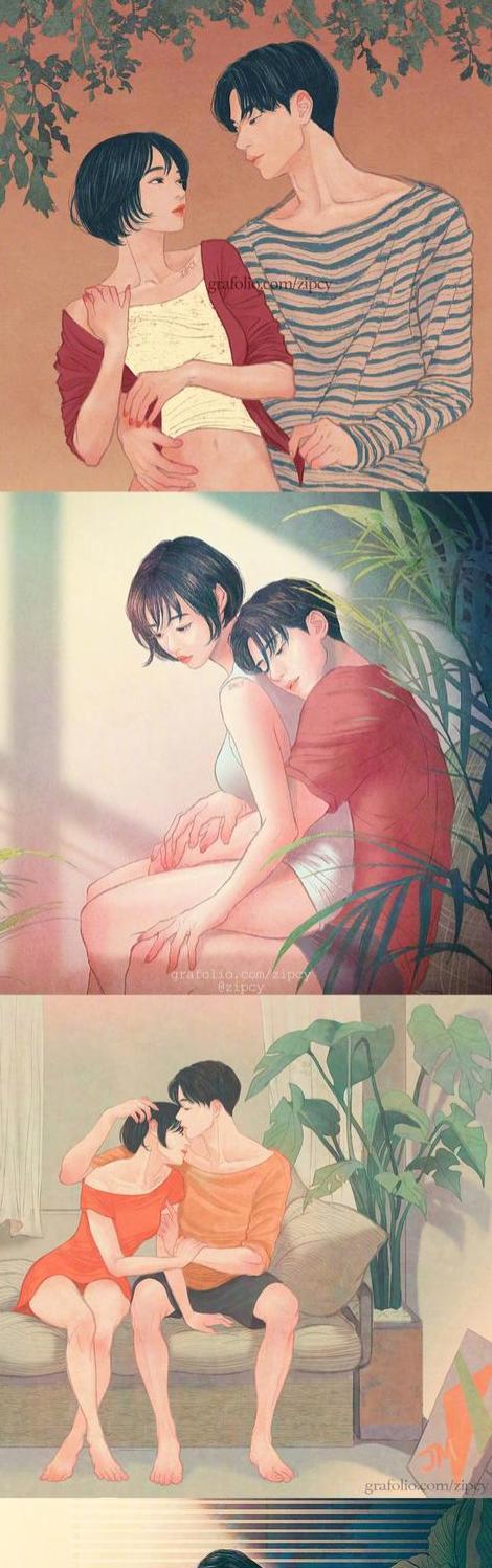 情侣之间要做的那些事,关于未来生活的样子,想想就很美好!