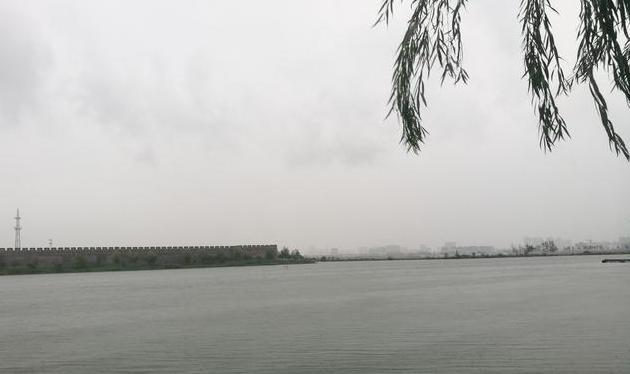 过商丘古城——远天清秋今寒意,满湖潋滟柳垂烟