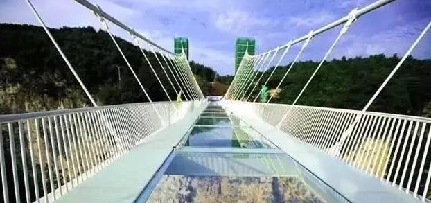 我想,约一人,一起,走过张家界玻璃桥,牵手一生!